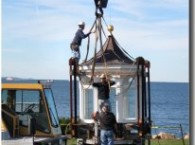 Avery Point Lighthouse Draws Ever So Close to Being Completely Restored