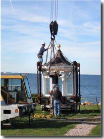 The Joseph Gnazzo Company  prepares lantern