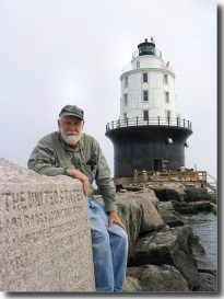 Stephen Jones returned to Harbor of Refuge Lighthouse