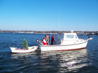 Lighthouse Santa to Visit East Providence by Boat on December 4