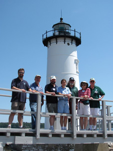 Volunteers at Portsmouth Harbor Lighthouse