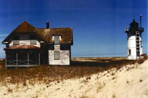 Race Point Light Station prior to restoration