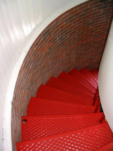 Staircase inside the light tower
