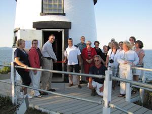 Owls Head Lighthouse volunteers