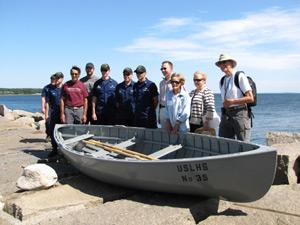 Rockland Breakwater peapod boat
