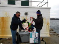 Rockland Breakwater volunteers