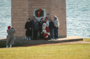 APLS with Santa at the lighthouse