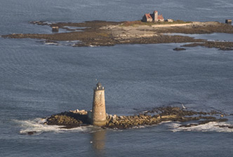 Keeping Winter's Icy Reach Out of Whaleback Light