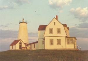 Wood Island Lighthouse without a lantern