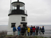 Owls Head Light on May 5, 2011