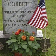 Corbett gravesite