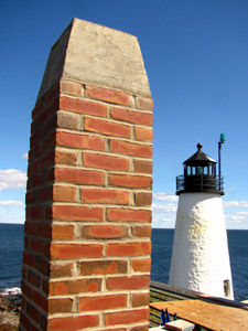 Chimney at Wood Island
