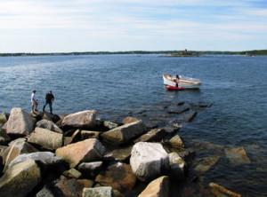 Landing at Whaleback