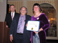 NELL volunteer award