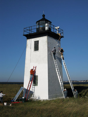 repainting long point