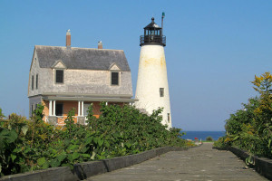 Journey out to Wood Island for a one-of-a-kind experience and tour the historic light station (Photo by Bob Trapani, Jr.)