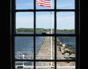 Restoring the View from the Keeper's House at Rockland Breakwater Lighthouse