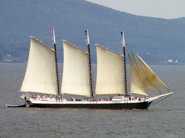 "The evening will also feature a silent auction with some attractive items – one being a chance to take a sail aboard the iconic windjammer, ""Victory Chimes."" (Photo by Bob Trapani, Jr.)"
