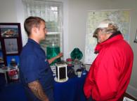 Public Enjoys Coast Guard Exhibit during 2013 Lighthouse Challenge