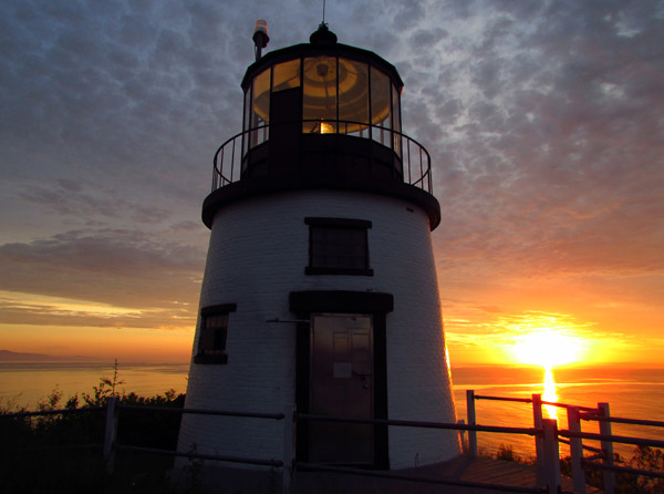 Owls Head Lighthouse, Maine (Photo by Bob Trapani, Jr.)