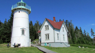 Gleam from Little River Lighthouse Grows Brighter