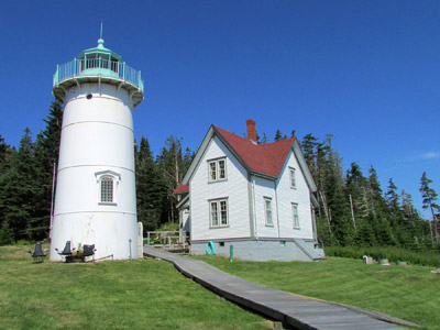 Little River Light Station at the entrance to Cutler Harbor in Downeast Maine (Photo by Bob Trapani, Jr.)
