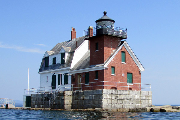 Rockland Breakwater Lighthouse (Photo by Bob Trapani, Jr.)