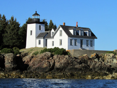 Indian Island Lighthouse, Rockport Harbor (Photo by Bob Trapani, Jr.)