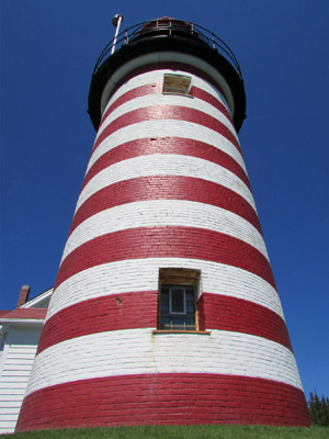 West Quoddy Head Lighthouse (Photo by Bob Trapani, Jr.)