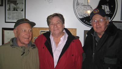 (L to R) Dana Small, Patty Hughes and Bob Kline of the Friends of Pemaquid Point Lighthouse (Photo courtesy of FPPL)