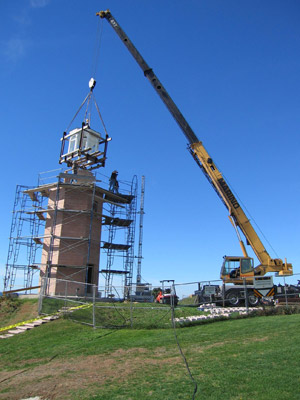 ALF has invested over $3.25 million dollars in lighthouse restoration. (Photo by Ron Foster)