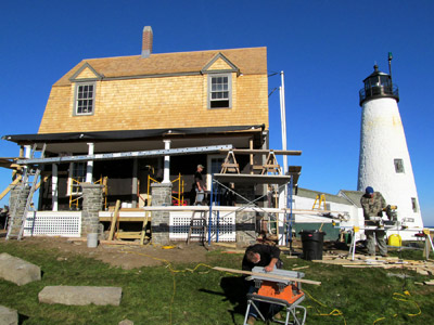 Wood Island Light Station (Photo by Bob Trapani, Jr.)