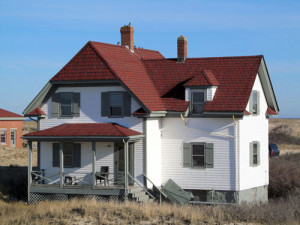 The Keeper's house at Race Point Light Station