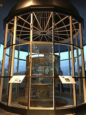 Maine Maritime Museum Lighthouse Exhibit