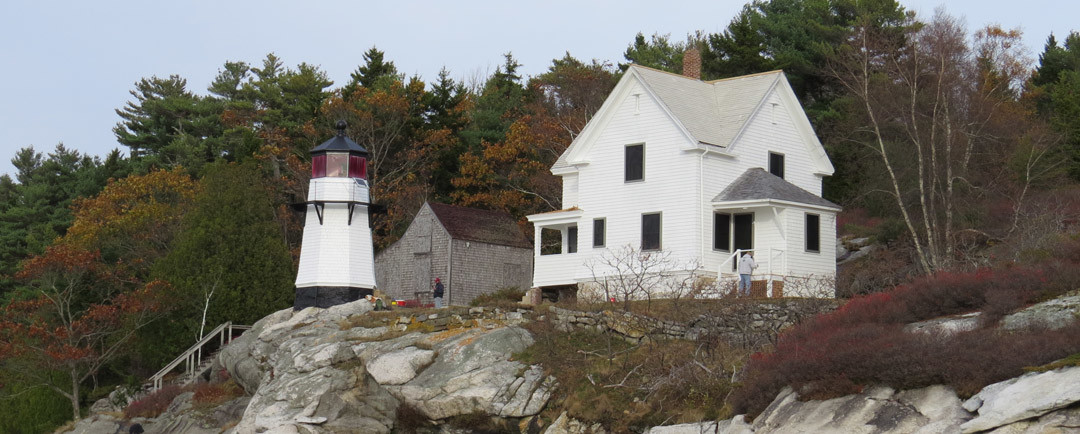 Celebrating a 2014 Success Story at Perkins Island Light Station – and Looking to the Future