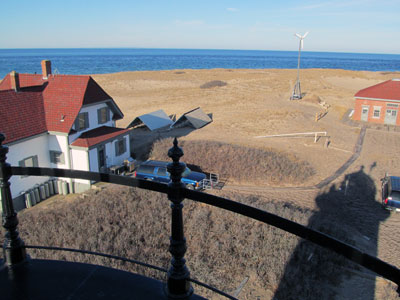 A view from atop Race Point Lighthouse. (Photo by Bob Trapani, Jr.)