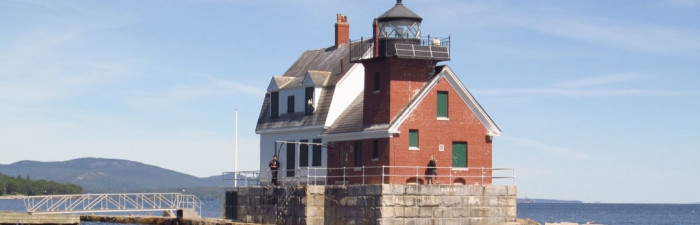 The Lantern at Rockland Breakwater Lighthouse to be Repainted in 2015
