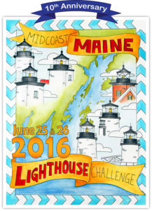 2016 Midcoast Maine Lighthouse Challenge