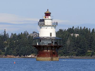 Goose Rocks Lighthouse (Photo by Bob Trapani, Jr.)