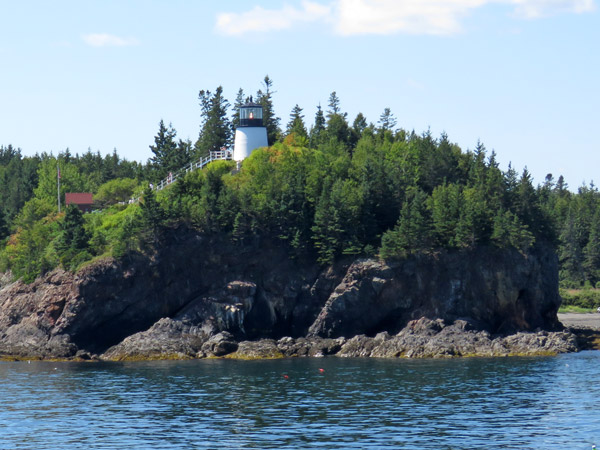 "Owls Head Light Station was once home to ""Spot"" the dog. (Photo by Bob Trapani, Jr.)"