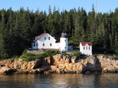 Bass Harbor Head Light Station, Mount Desert Island (Photo by Bob Trapani, Jr.)