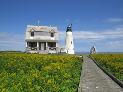 Wood Island Light Station, Biddeford Pool (Photo by Bob Trapani, Jr.)