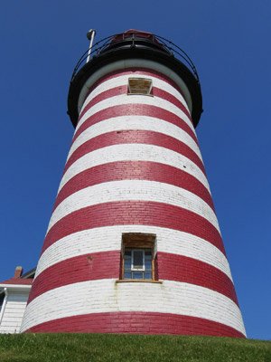 West Quoddy Head Lighthouse, Lubec (Photo by Bob Trapani, Jr.)