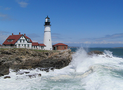 Established in 1791, Portland Head Light Station is Maine's oldest sentinel. (Photo by Bob Trapani, Jr.)