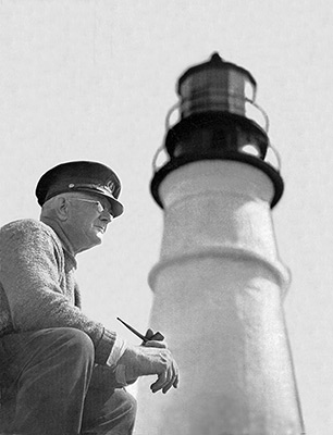 Keeper Robert Thayer Sterling (American Lighthouse Foundation photo)
