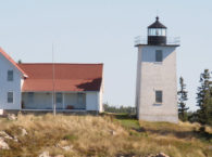 "ALF Presents a ""Keeper of the Light"" Award to the Friends of Swan's Island Lighthouse"