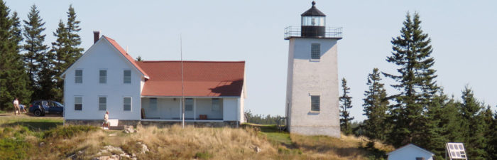 """ALF Presents a """"Keeper of the Light"""" Award to the Friends of Swan's Island Lighthouse"""