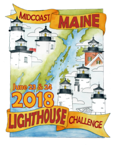 2018 Midcoast Lighthouse Challenge Artwork