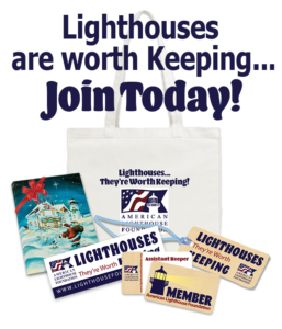 Join as a member of the American Lighthouse Foundation