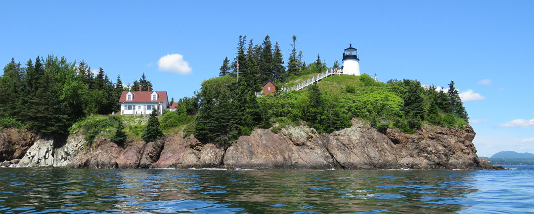 Owls Head Light Volunteers Amy Faunce and Linda Strout Presented with ALF Award